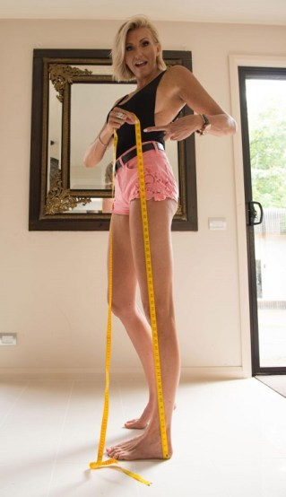 Meet The Woman Who Has The Longest Legs In The World