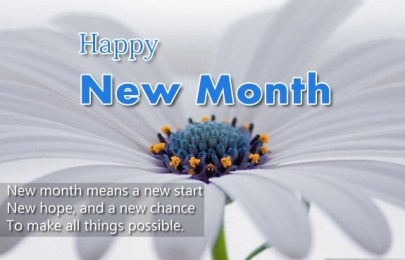Romantic New Month Messages For Couples, Lovers And Friends