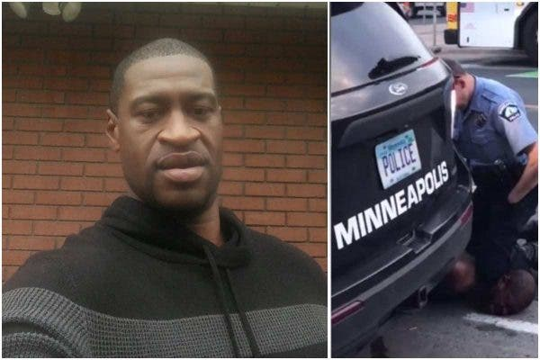 American White Police Officer Pinned Man On The Floor Till He Died Because He Is Black