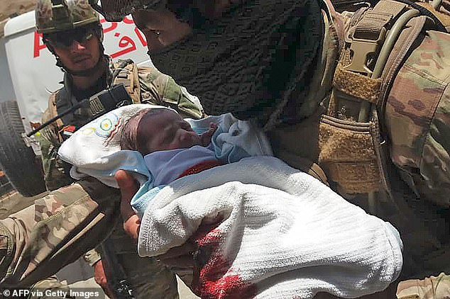Baby Survives After Being Shot Twice By Terrorists Inside A Hospital In Afghanistan