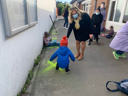 How Social Distancing Is Done Among Nursery School Kids In France