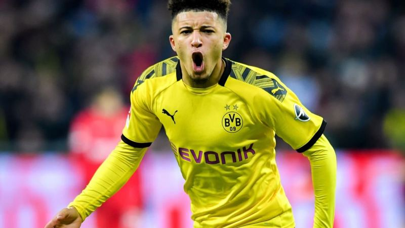 Manchester United Set To Spend £86m On Sancho