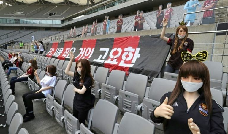 South Korean Football Club Apologise For Using 'Sex Doll' In Stadium