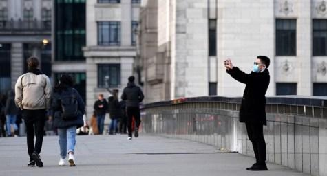 UK Economy Shrinks On COVID-19