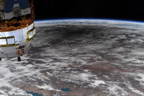 Amazing Space Views Of The Moon's Shadow On Earth From The 'Ring Of Fire' Solar Eclipse