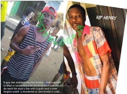 Man Stabs Brother To Death Over N100 Drink In Lagos