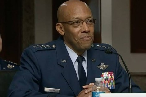 United States Congress Confirms First Black American Military Chief, Charles Brown
