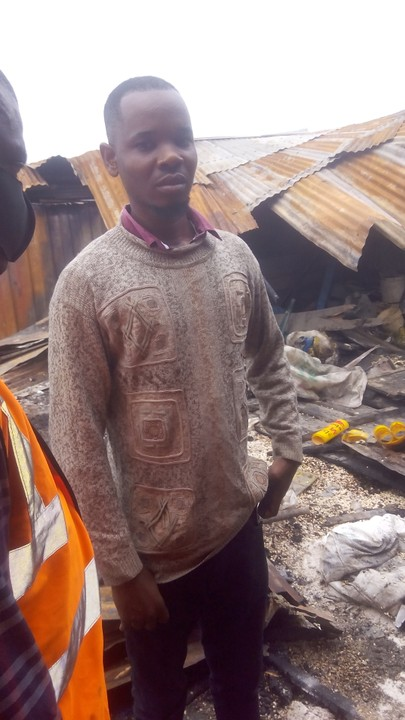 Fire Guts Marian Market Calabar, As Traders Cry Out