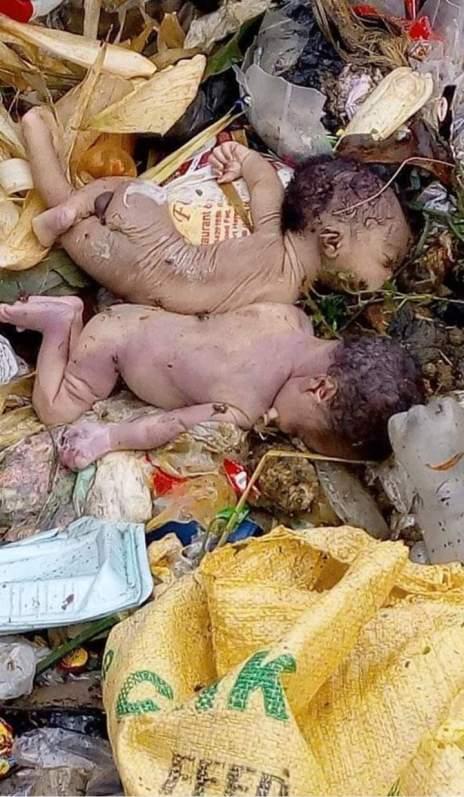 Twin Babies Found Dead In Refuse Dump In Calabar