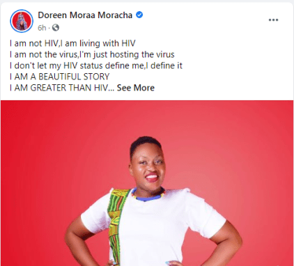 Meet Beautiful Lady, Doreen Moracha Who Has Been Living With HIV For 28 Years