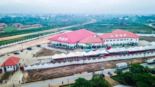 See Photos Of The Newly Completed PDP Secretariat In Akwa Ibom