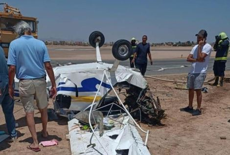 Two Confirmed Dead As Light Aircraft Crashes In Egypt