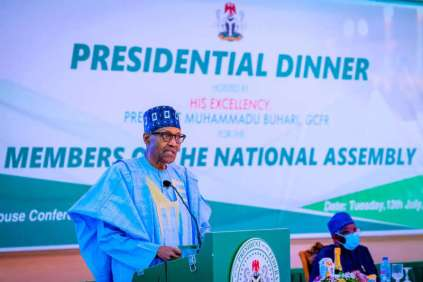 President Buhari Announces N287b As Profit After Tax By NNPC
