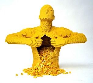 Nathan Sawaya: Yellow Man
