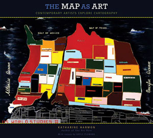 Experimental cartography the map as art brain pickings weve always been fascinated by maps through various elements of design from typography to color theory to data visualization they brilliantly condense altavistaventures