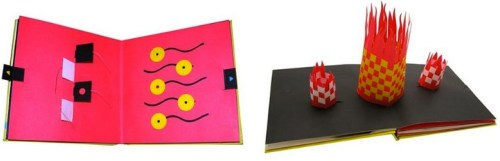 One Red Dot pop-up book