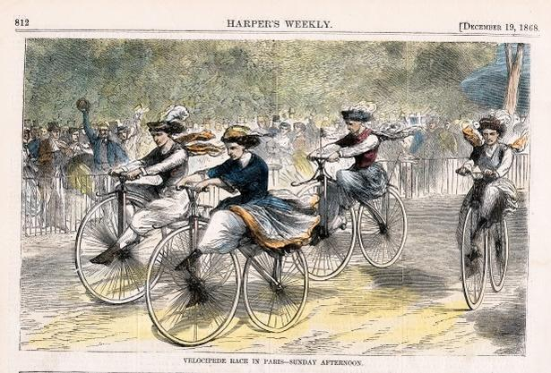 Wheels Of Change How The Bicycle Empowered Women Brain Pickings