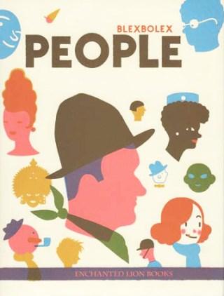 People: A Meditation on Human Duality by Illustrator Blexbolex