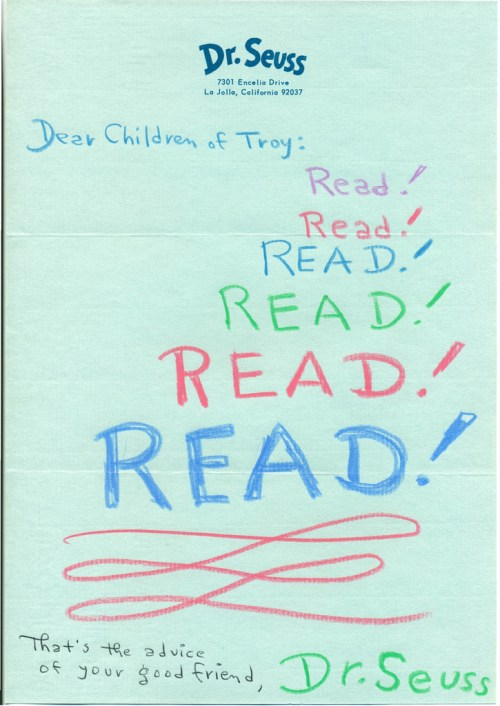 Letters to children from cultural icons on the love of libraries dear children of troy spiritdancerdesigns Image collections