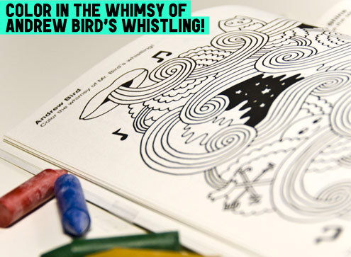 Fun For Good: The Indie Rock Coloring Book – Brain Pickings