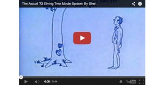 Animated Adaptation of The Giving Tree Narrated by Shel Silverstein to Celebrate a New Posthumous Book