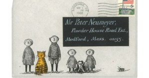Edward Gorey's Never-Before-Seen Letters and Illustrated Envelopes