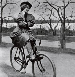 A List of Don'ts for Women on Bicycles Circa 1895
