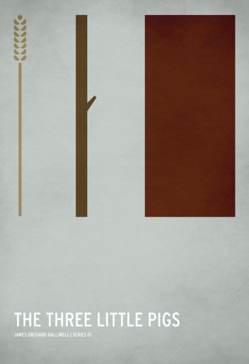 Minimalist Book Cover Posters : From rapunzel to the little red riding hood beloved