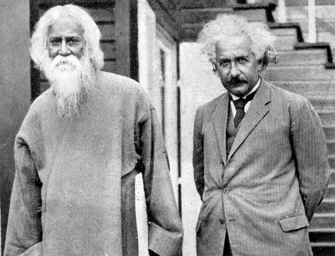 When Einstein Met Tagore A Remarkable Meeting Of Minds On The Edge