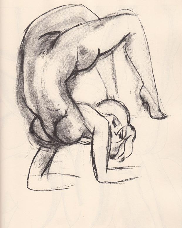 Henri Matisse 畫的 Ulysses 插畫