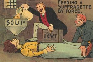 Anti-Suffragette Postcards from the Early 20th Century