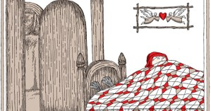 Edward Gorey Illustrates Little Red Riding Hood and Other Classic Children's Stories