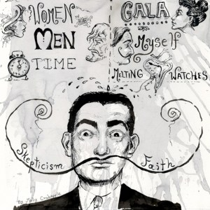 My Struggle: Salvador Dalí's Credo, Illustrated by Molly Crabapple