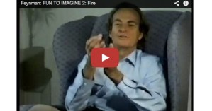 Richard Feynman Explains Where Trees Actually Come From and How Fire Works