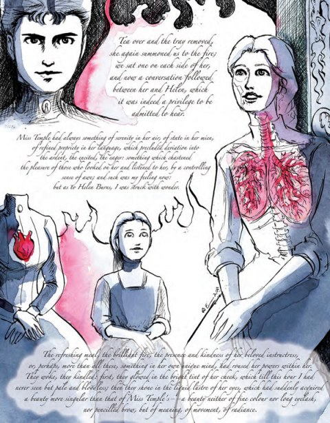 Jane Eyre Illustrations Dame Darcy
