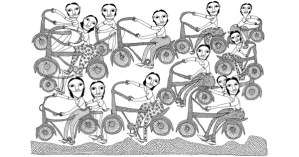 Drawing from the City: Exquisite Indian Folk Art Meets Women's Empowerment
