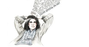 Susan Sontag on Art: Illustrated Diary Excerpts