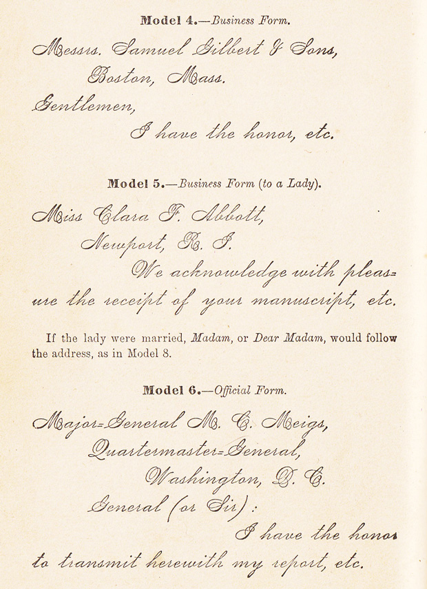 how to write letters a 19th century guide to the lost art of rh brainpickings org 19th Century Love Letters 19th Century Transportation