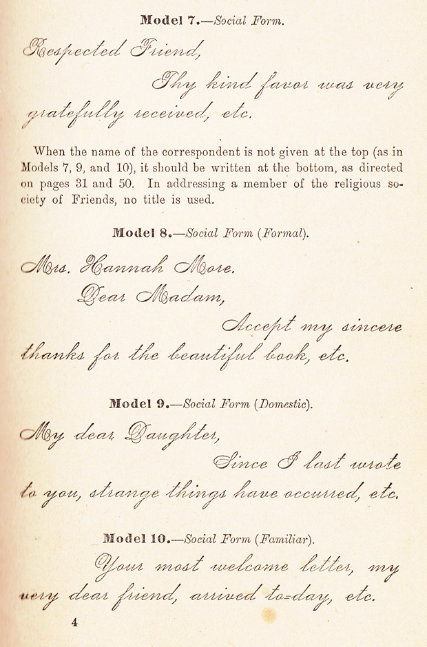 how to write letters a 19th century guide to the lost art of rh brainpickings org 19th Century Love Letters 19th Century Love Letters