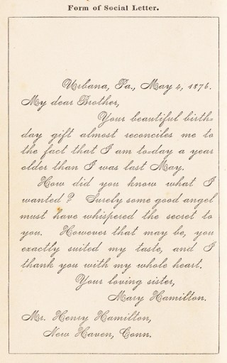 How To Write Letters: A Vintage Guide to the Lost Art of Epistolary Etiquette from 1876