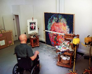 Chuck Close on Creativity, Work Ethic, and Problem-Solving vs. Problem-Creating