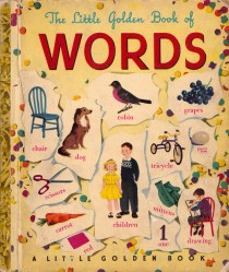 The Little Golden Book of Words: A Rare Illustrated Gem from