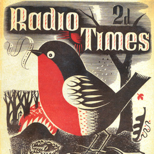 Vintage Holiday Cover Designs for Radio Times Magazine