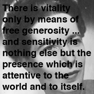 Simone de Beauvoir on Ambiguity, Vitality, and Freedom