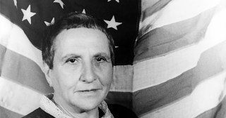 """Gertrude Stein Reads from """"The Making of Americans"""" in a Rare Recording from the 1930s"""