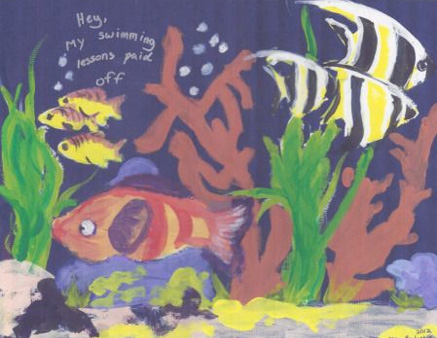 Illustrated Six-Word Memoirs by Students from Grade School