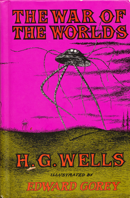 Edward Gorey's Vintage Illustrations for H. G. Wells's The War of the Worlds