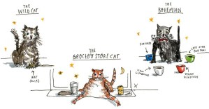 Gay Talese's Field Guide to the Social Order of New York's Cats, Illustrated
