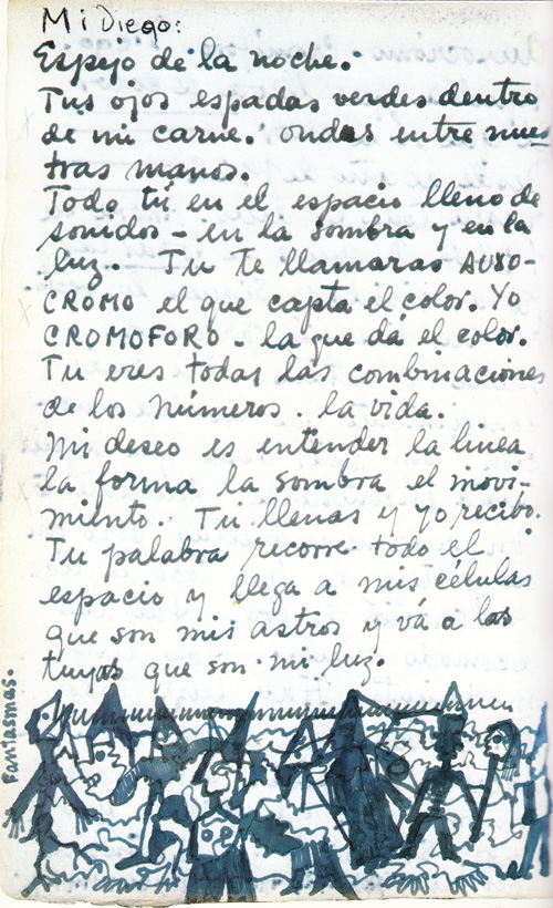 Frida Kahlos Passionate Hand Written Love Letters To Diego Rivera