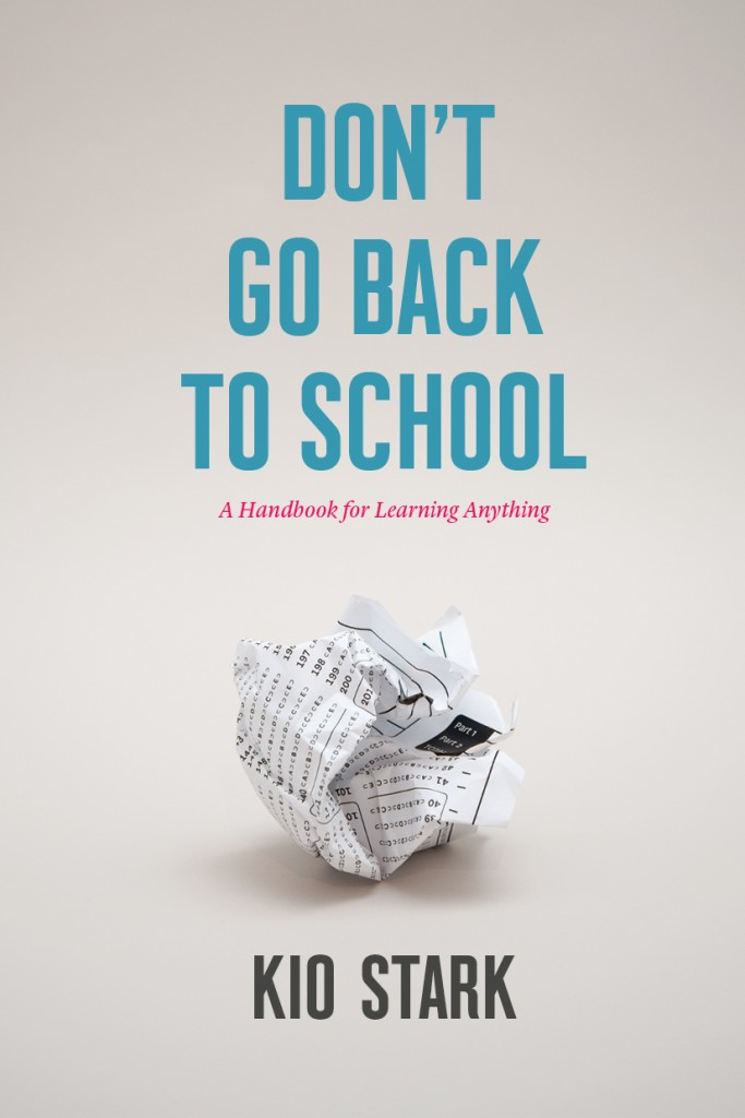 Don't Go Back to School: How to Fuel the Internal Engine of Learning